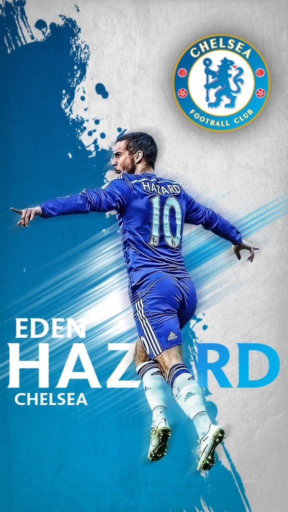 EDEN HAZARD favoriete voetballer, omdat hij bij chelsea speelt
