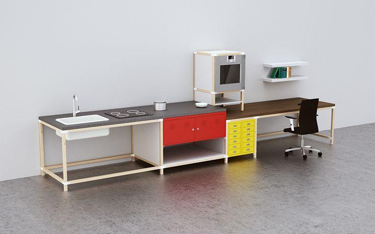 M s de 25 ideas incre bles sobre cocinas modulares en for Cocina compacta ikea