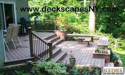 multi level trek deck