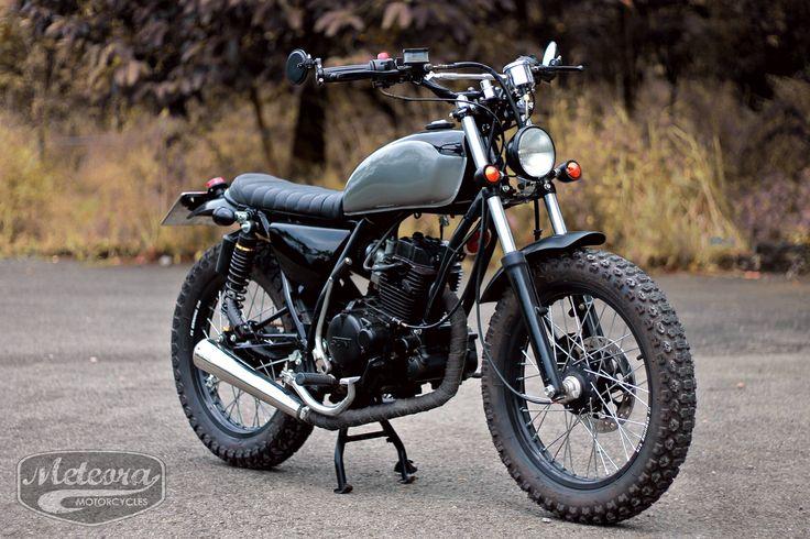 Sym Bonus tracker by Meteora Motorcycles, Vietnam