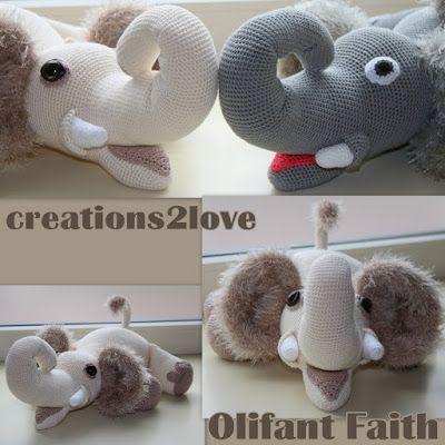 Haakpatroon Olifant Faith