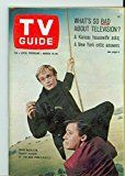 #4: 1966 TV Guide Mar 19 Man from UNCLE  Eastern New England Edition NO MAILING LABEL Excellent to Mint (6 out of 10) Lightly Used by Mickeys Pubs