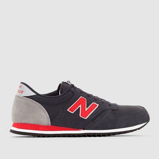 new balance u 420 d snbr grey red