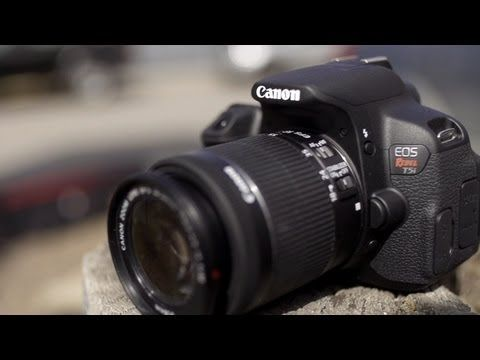 Canon Rebel T5i (700D) Hands-On - YouTube