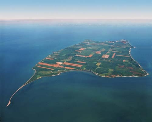 Pelee Island, Ontario The most southerly inhabited island in Canada