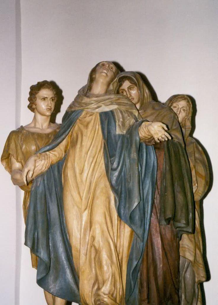 Las tres Marías y San Juan (Crevillente, Alicante), Mariano Benlliure (1946).