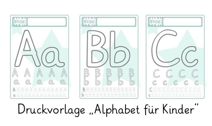 Vor einigen Wochen haben wir hier auf dem Blog die Druckvorlage zum Buchstaben schreiben lernen mit Kindern veröffentlicht. Mittlerweile war
