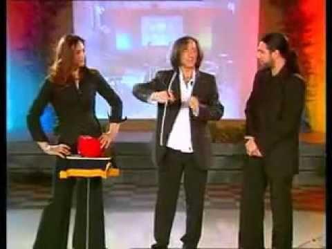 Rendy Prestigiatore illusionista TV Millevoci Ring and Rope