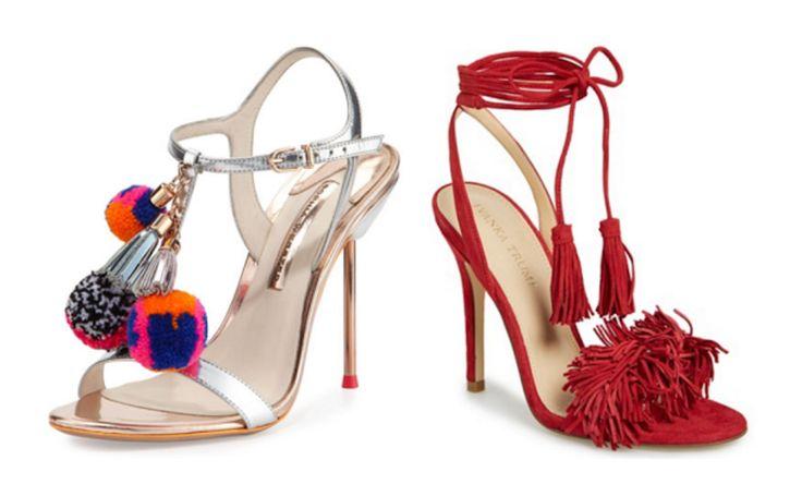 The ULTIMATE round up of #pompom & #fringe #heels!    ON THE KATTWALK #shoes