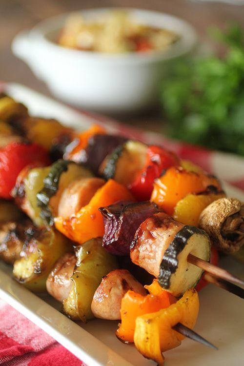 Dashing Dish: Grilled Italian Sausage Kabobs