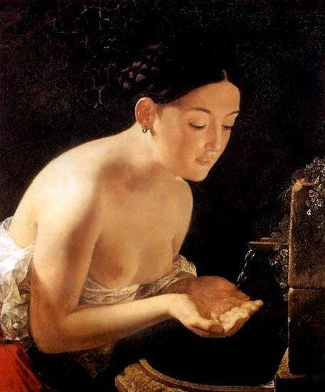 Karl Brulloff 1799- 1852_italian_morning