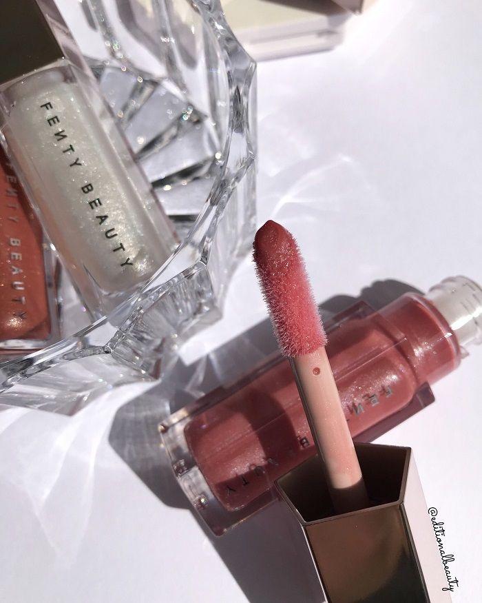 Fenty Beauty Fu Y Fussy Gloss Bomb Universal Lip Luminizer Review Swatches Fenty Beauty Makeup Cosmetics Makeup Brands