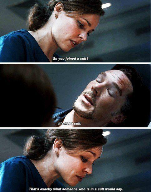 Doctor Strange    Christine Palmer   Sherlock   Marvel ...