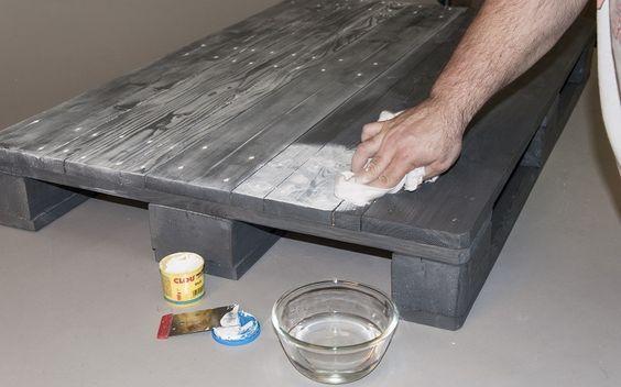 die besten 25 schwarze holzbeize ideen auf pinterest schwarz holzb den schwarz lackierte. Black Bedroom Furniture Sets. Home Design Ideas