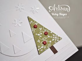 This week you can buy Stampin' Up embossing folders online at a 25% discount - UK demonstrator Vicky Hayes demonstrates embo9ssing!
