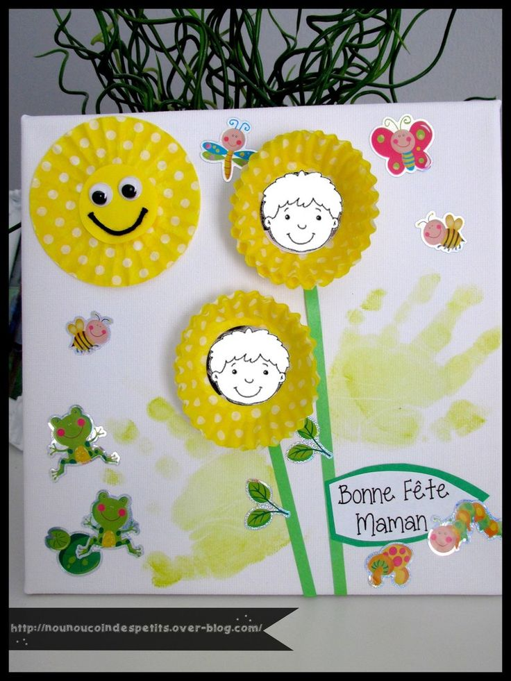 229 best bricolage et diy f te des m res images on pinterest diy gifts and flowers - Cadeau fete des meres diy ...