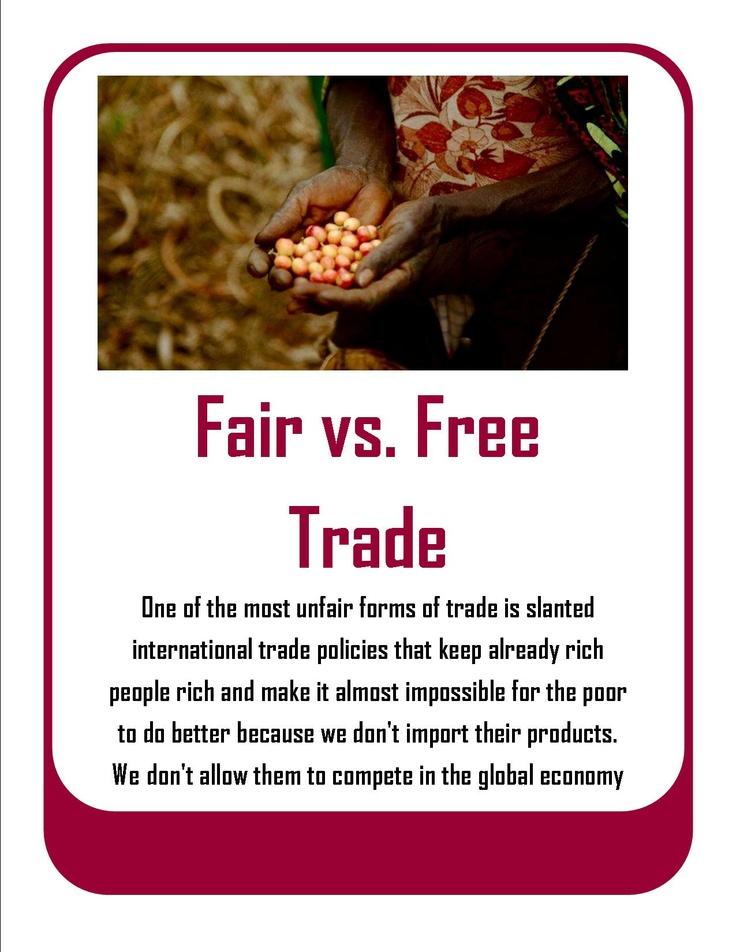 free trade and fair trade pdf