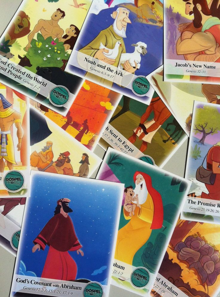 The Gospel Project for Kids: Card Games
