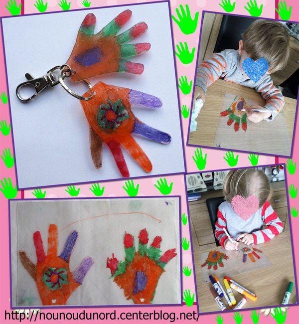 Porte clés en plastique dingue ou fou ou magique, explications sur mon blog
