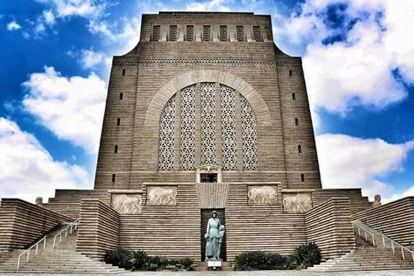 Voortrekker monument,  Pretoria,  South Africa