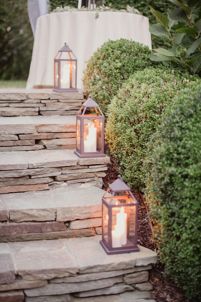 Lanterns + candles | Image by Shaun Menary Photography