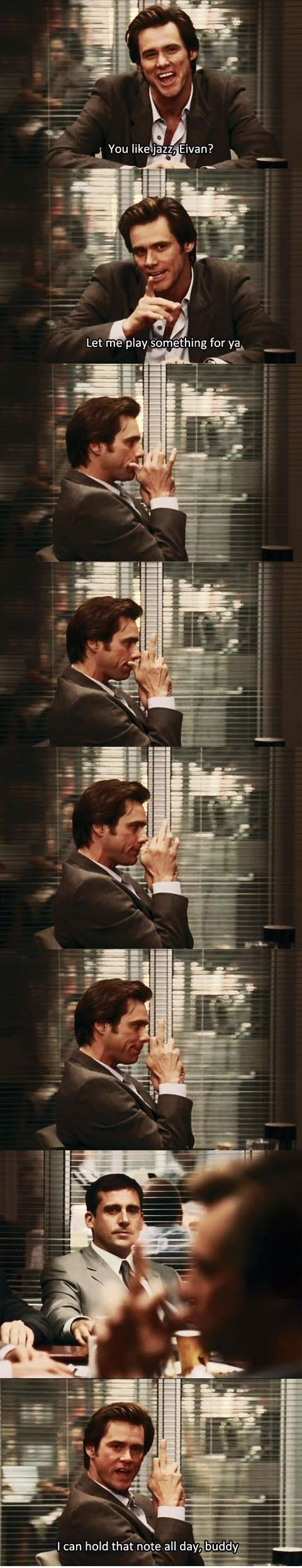 Bruce Almighty (2003) Directed by Tom Shayac. Starring Jim Carrey, Jennifer Aniston, Morgan Freeman