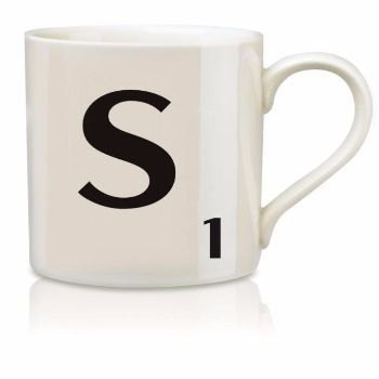 Scrabble Mug S: Scrabble mugs – collect the set for when you have 25 friends round for tea.