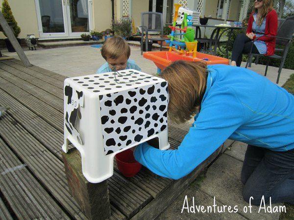 Farmyard theme outdoor party games | http://adventuresofadam.co.uk/outdoor-party-games/