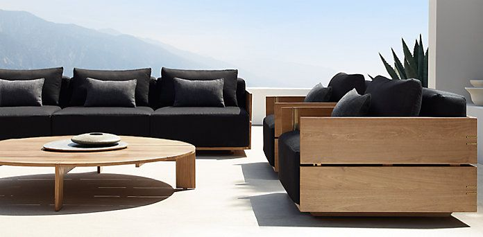Restoration Hardware Introducing the 2016 Outdoor Collection RH's Modern Styles