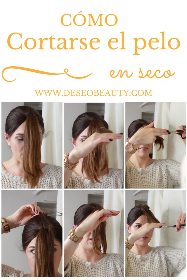 Cómo cortarte el pelo en seco y en capas paso a paso! http://www.deseobeauty.com/tutoriales/como-cortar-el-pelo-en-seco/