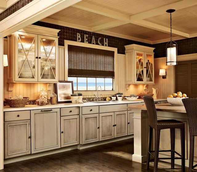 Kitchen Cabinet Ideas Beach House: Best 25+ Beach Theme Kitchen Ideas On Pinterest