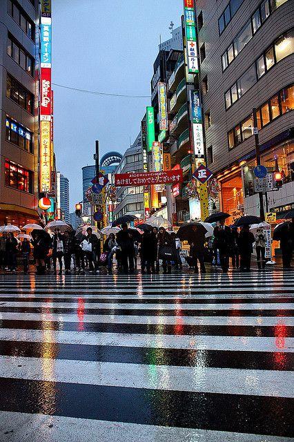 [池袋] Ikebukuro - it' raining over Ikebukuro