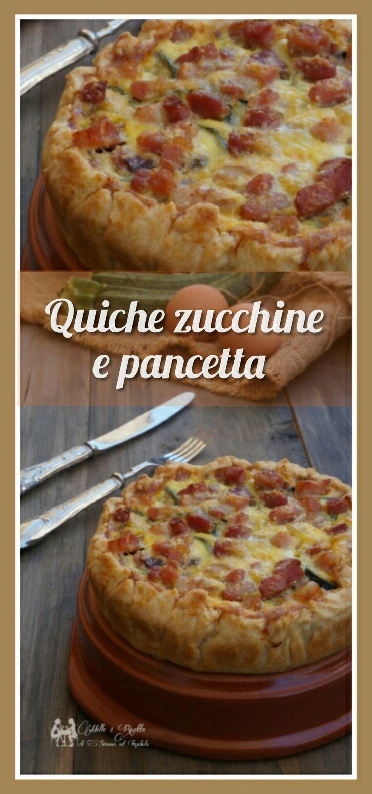 Quiche zucchine e prosciutto http://blog.giallozafferano.it/mille1ricette/quiche-zucchine-pancetta/ #mille1ricette #giallozafferano #Gzblog #tasty #sweet #recipe #TOP #top_Food_photo #tasty #Quiche #prosciutto #zucchine