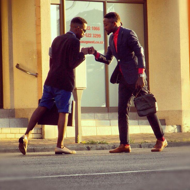 Out in the Streets when gentlemen meet Style speaks