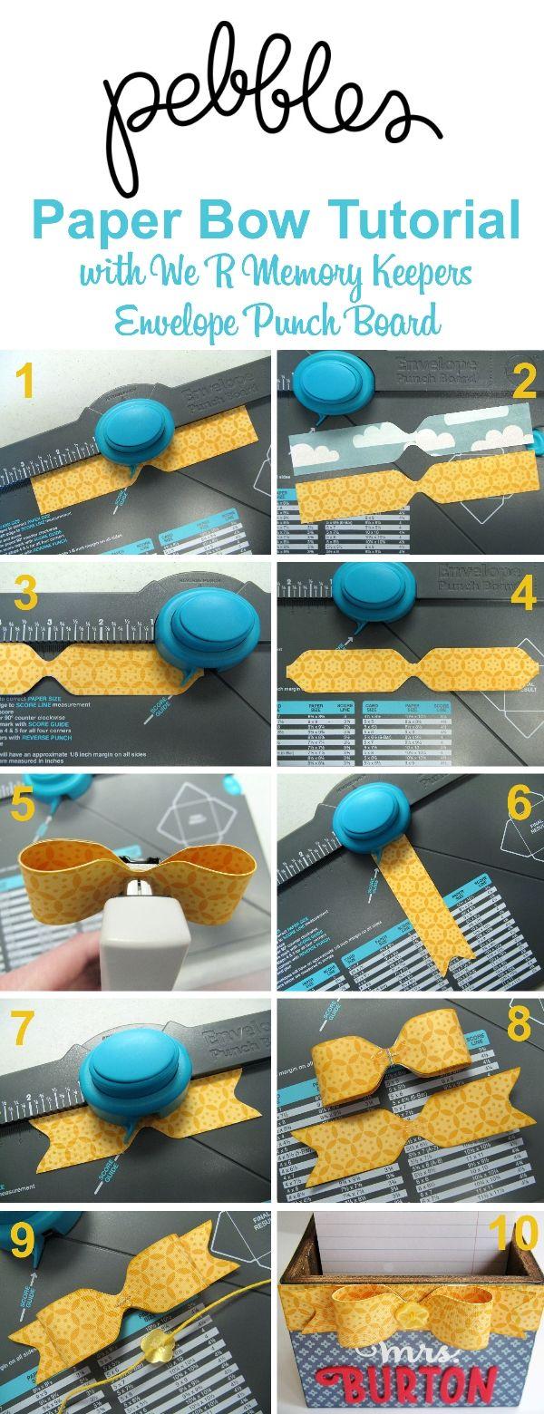 Schleife machen mit dem punch Board Mehr