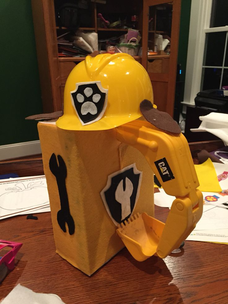 Rubble Paw Patrol Pup Halloween costume