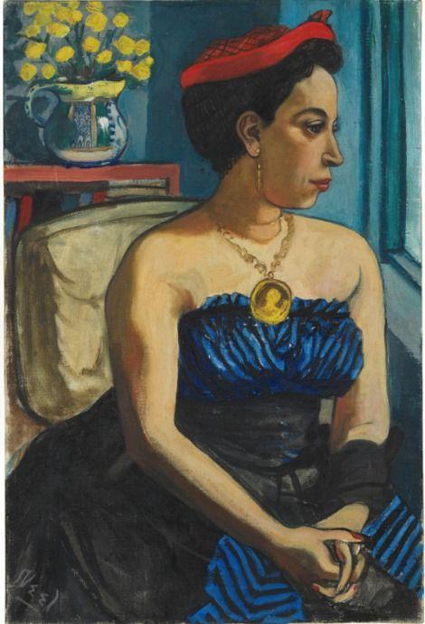 Alice Neel, Portrait of the Playwright Alice Childress on ArtStack #alice-neel #art