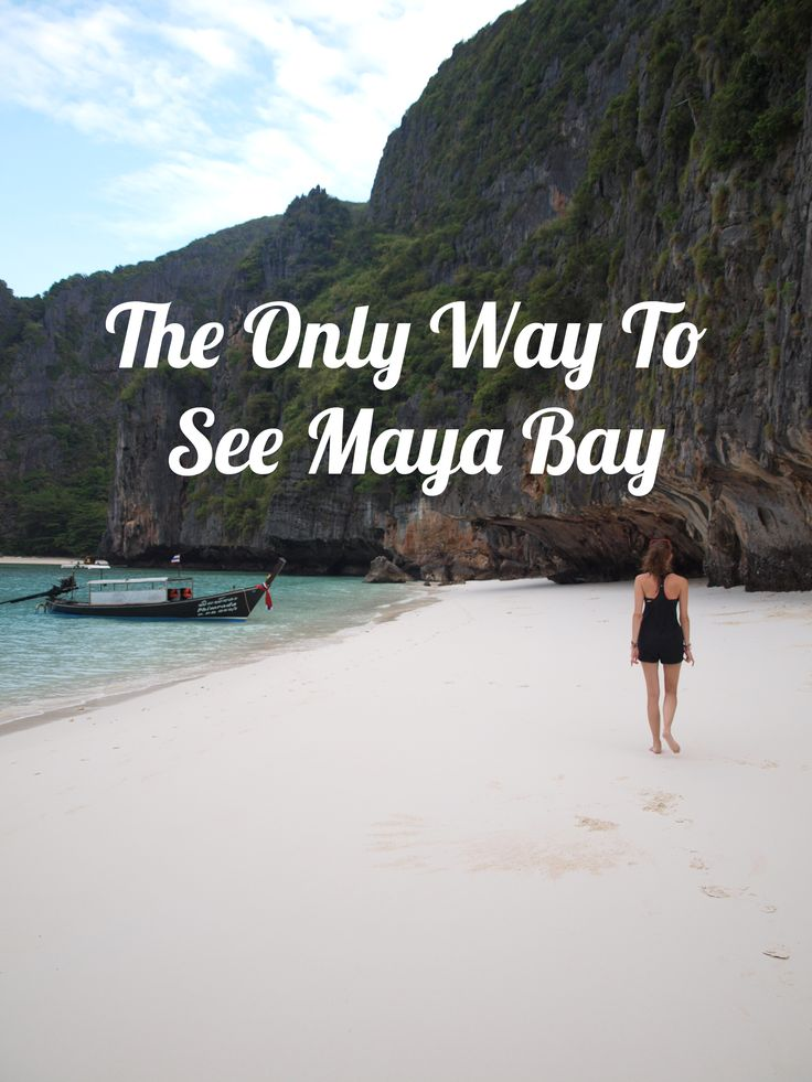 The only way to see Maya Bay in Thailand - the Maya Bay Sleep Aboard tour. | Twirl The Globe - travel blog
