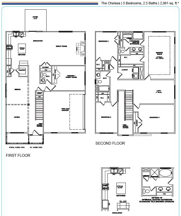 1000 images about creekside new construction homes in for Richmond house plan