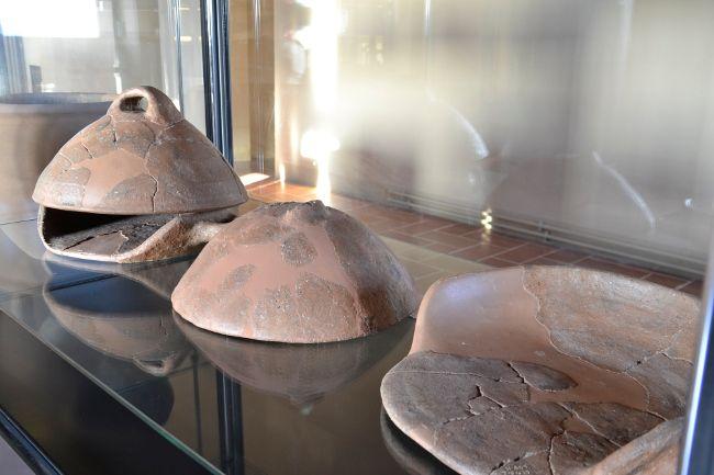 Etruscan ovens, from Poggio Civitate (museum of Murlo, Italy)