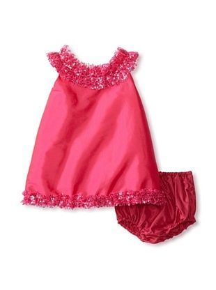 67% OFF Isabel Garreton Kid's A-Line Dress with Blomers (Fuchsia)