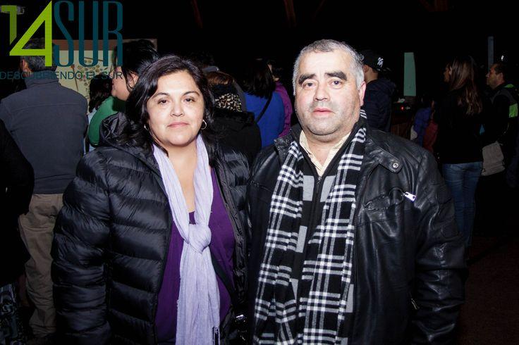 Olga Quilaqueo y Carlos Cossio