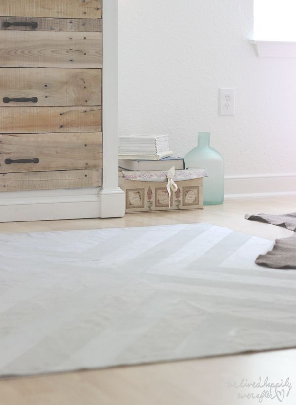how to paint a drop cloth rug u0026 my honest thoughts on the after