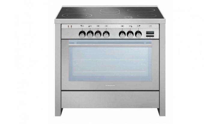 Glem 90cm Stainless Steel Ceramic Freestanding Oven ML96ECI $3999
