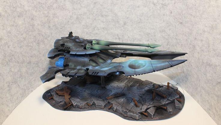 Eldar Scorpion super heavy tank warhammer 40k