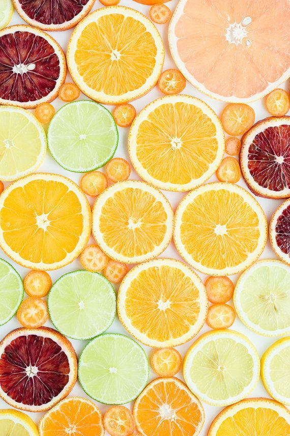 Citrus Art Print, Food Photography, Fruit Photography, Fruit Kitchen Decor, Food Art Print, Kitchen Decor, Dining Room Decor, Home Decor