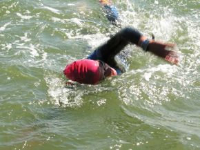 Nervous about swimming in the open water? Here are tips from a couple top triathlon coaches to prepare you for the uncertainty of the open water.