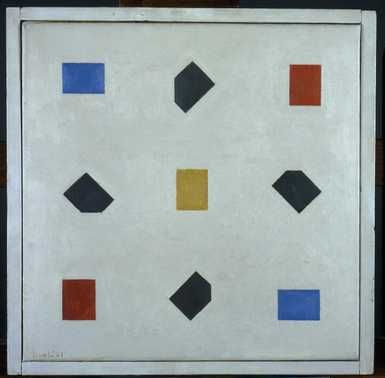 Compositie '18-'21, Bart van der Leck,  Centraal Museum Utrecht