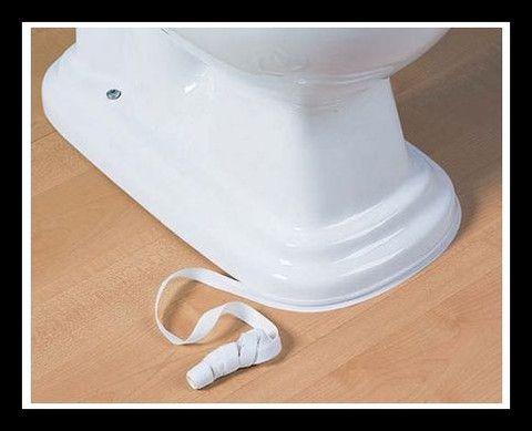 White Caulk Tape For The Bathroom