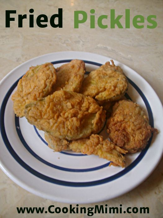 Fried Pickles for a Man Food #SundaySupper...this recipe can be used ...